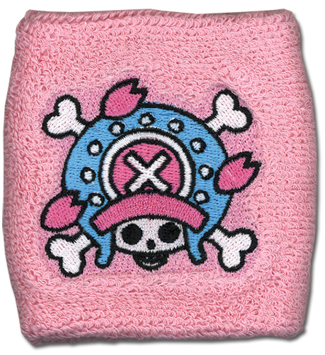 One Piece Chopper Skull Icon Wristband officially licensed One Piece Wristbands product at B.A. Toys.