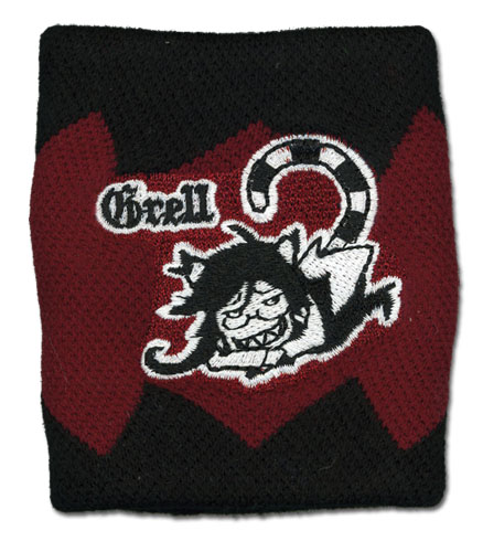 Black Butler 2 - Grell Wristband, an officially licensed product in our Black Butler Wristbands department.