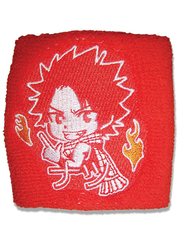 Fairy Tail Natsu Wristband officially licensed Fairy Tail Wristbands product at B.A. Toys.