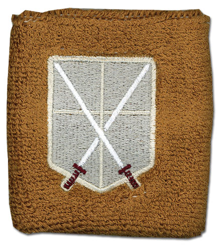 Attack On Titan - Cadet Corps Emblem Wristband, an officially licensed Attack On Titan product at B.A. Toys.