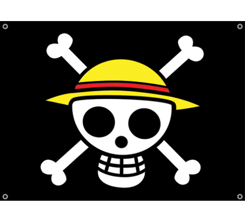 One Piece Luffy's Flag officially licensed product at B.A. Toys.