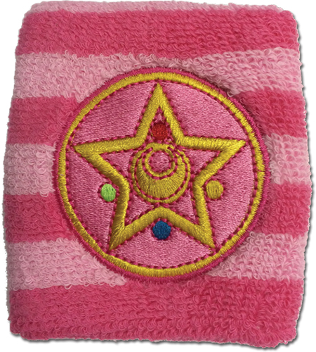 Sailor Moon - Moon Brooch Wristband, an officially licensed product in our Sailor Moon Wristbands department.