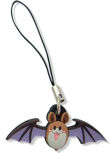 Rosario Vampire Bat Pvc Cellphone Charm, an officially licensed Rosario Vampire Cell Phone Accessory
