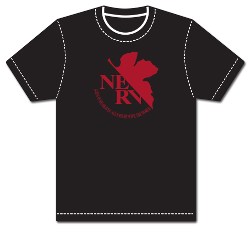Evangelion Nerv Logo T-Shirt-S, an officially licensed product in our Evangelion T-Shirts department.