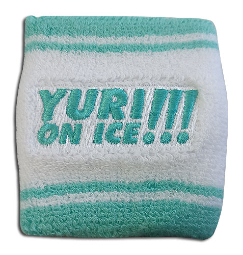 Yuri On Ice!!! - Logo Wristband, an officially licensed product in our Yuri!!! On Ice Wristbands department.