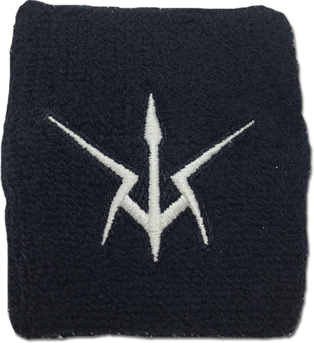 Code Geass - Black Knights Symbol Wristband, an officially licensed product in our Code Geass Wristbands department.