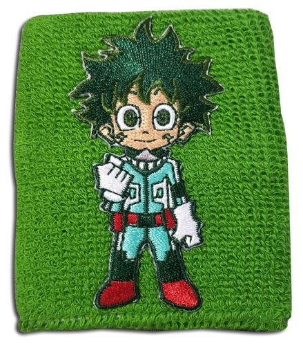 My Hero Academia - Deku Wristband officially licensed My Hero Academia Wristbands product at B.A. Toys.