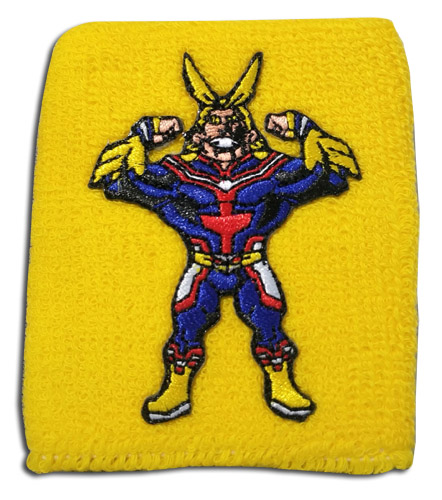 My Hero Academia - Allmight Wristband officially licensed My Hero Academia Wristbands product at B.A. Toys.