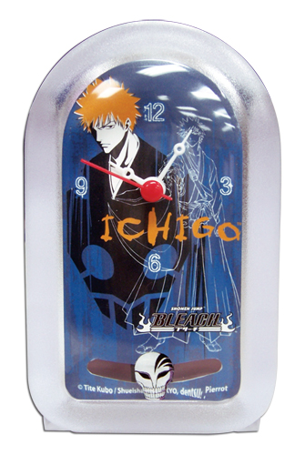 Bleach Ichigo Clock, an officially licensed Bleach product at B.A. Toys.