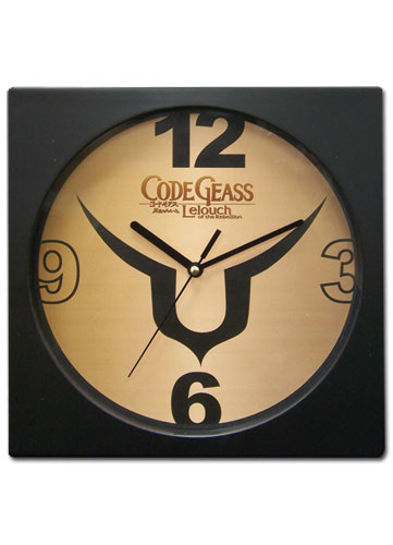 Code Geass Symbol Clock, an officially licensed product in our Code Geass Clocks department.