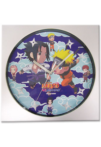Naruto Shippuden Sd Characters Wall Clock, an officially licensed product in our Naruto Shippuden Clocks department.