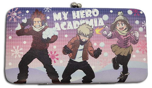 My Hero Academia - Group Snow #2 Hinge Wallet, an officially licensed product in our My Hero Academia Wallet & Coin Purse department.