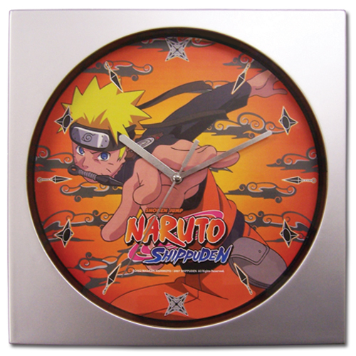 Naruto Shippuden Naruto Wall Clock, an officially licensed product in our Naruto Shippuden Clocks department.