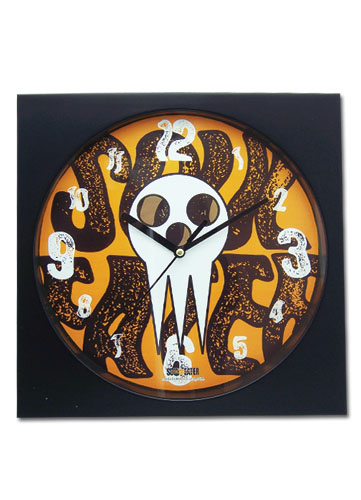 Soul Eater Skull Wall Clock officially licensed product at B.A. Toys.