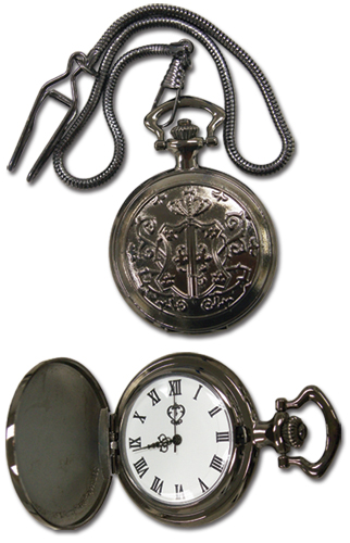 Black Butler Sebastian Pocket Watch officially licensed product at B.A. Toys.