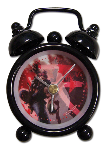 Super Street Fighter Iv Akuma Mini Desk Clock, an officially licensed product in our Super Street Fighter Clocks department.