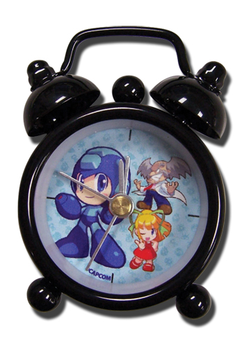 Megaman Powered Up Group Mini Desk Clock, an officially licensed Mega Man Clock