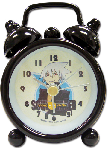 Soul Eater Soul Mini Desk Clock officially licensed product at B.A. Toys.
