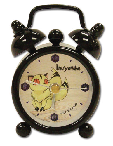 Inuyasha Kirara Mini Desk Clock officially licensed product at B.A. Toys.