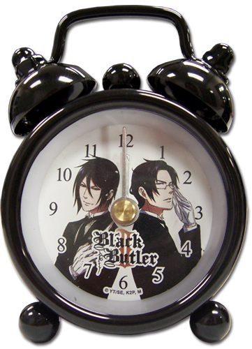 Black Butler 2 Sebastian Vs Claude Mini Desk Clock, an officially licensed Black Butler product at B.A. Toys.