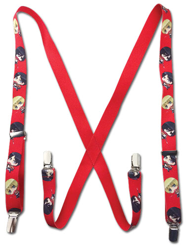 Attack On Titan - Eren, Armin & Mikasa Suspenders officially licensed Attack On Titan Costumes & Accessories product at B.A. Toys.
