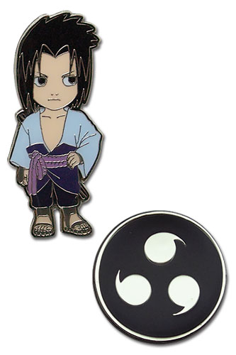 Naruto Shippuden Sd Sasuke Pin Set, an officially licensed product in our Naruto Shippuden Pins & Badges department.