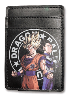 Dragon Ball Super - Goku & Vegeta Card Holder, an officially licensed product in our Dragon Ball Super Stationery department.