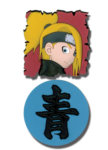 Naruto Shippuden Deidara & Kanji Pvc Pin Set, an officially licensed product in our Naruto Shippuden Pins & Badges department.