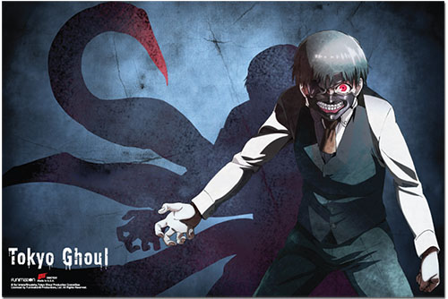 Tokyo Ghoul - Kaneki Centipede Paper Poster, an officially licensed product in our Tokyo Ghoul Posters department.