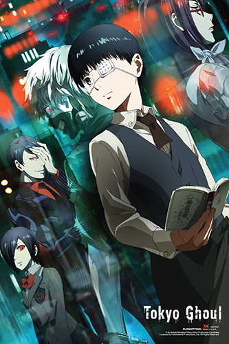 Tokyo Ghoul - Kaneki & Friends Paper Poster, an officially licensed product in our Tokyo Ghoul Posters department.