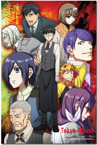 Tokyo Ghoul - Kaneki And Others Paper Poster, an officially licensed product in our Tokyo Ghoul Posters department.
