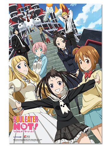 Soul Eater Not - Group Paper Poster, an officially licensed product in our Soul Eater Not! Posters department.