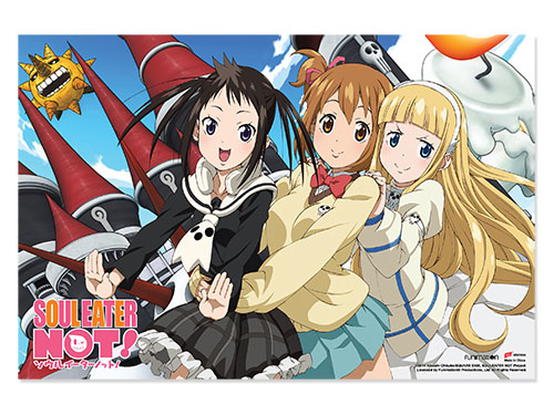 Soul Eater Not - Castle Paper Poster officially licensed Soul Eater Not! Posters product at B.A. Toys.