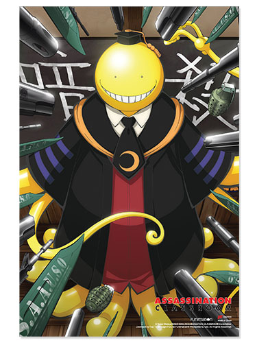Assassination Classroom - Koro Sensei Paper Poster, an officially licensed product in our Assassination Classroom Posters department.