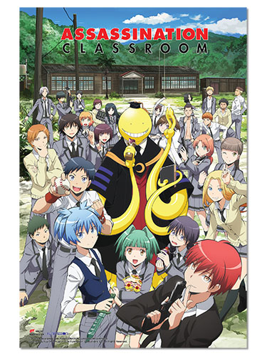 Assassination Classroom - Group Paper Poster, an officially licensed product in our Assassination Classroom Posters department.