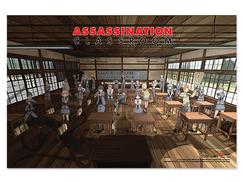 Assassination Classroom - Classroom Paper Poster, an officially licensed product in our Assassination Classroom Posters department.