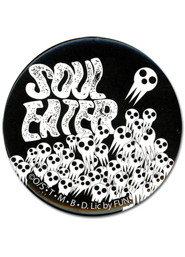 Soul Eater Skull Button, an officially licensed product in our Soul Eater Buttons department.