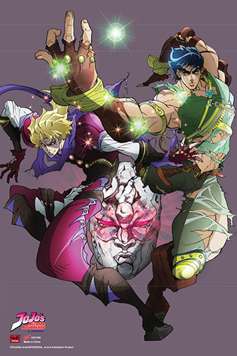 Jojo - Jonathan & Dio 2 Paper Poster, an officially licensed product in our Jojo'S Bizarre Adventure Posters department.