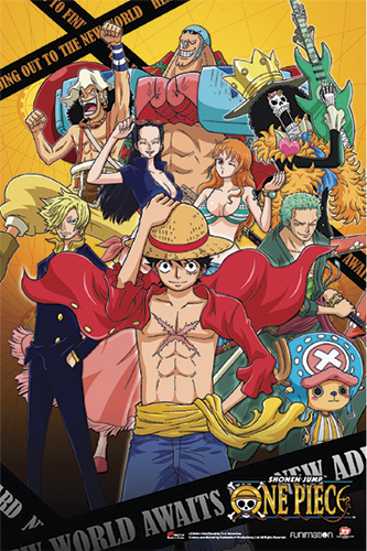 One Piece - Composite F1_14 Paper Poster, an officially licensed product in our One Piece Posters department.