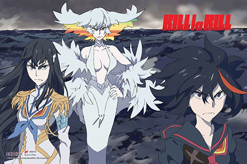 Kill La Kill - Group Paper Poster, an officially licensed product in our Kill La Kill Posters department.
