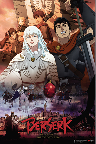 Berserk - Castle Paper Poster, an officially licensed Berserk product at B.A. Toys.