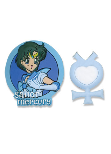 Sailormoon Sailor Mercury & Symbol Pinset, an officially licensed product in our Sailor Moon Pins & Badges department.