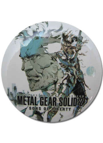 Metal Gear Solid Snake Button, an officially licensed product in our Metal Gear Buttons department.