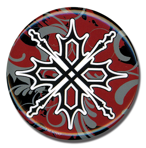 Vampire Knight Zero's Tattoo Button, an officially licensed product in our Vampire Knight Buttons department.