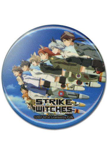 Strike Witches Crew Button, an officially licensed product in our Strike Witches Buttons department.