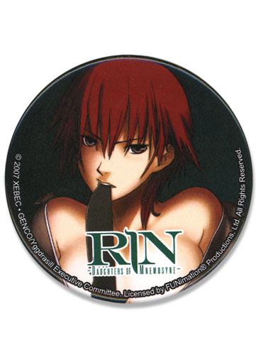 Rin Laura Button, an officially licensed product in our Everything Else Buttons department.