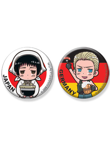 Hetalia Japan & Germany 1