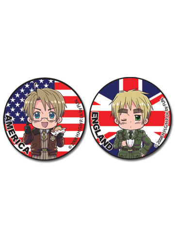Hetalia America And England 1