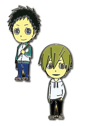 Durarara!! Mikado Masaomi Metal Pin Set, an officially licensed Durarara Pin / Badge