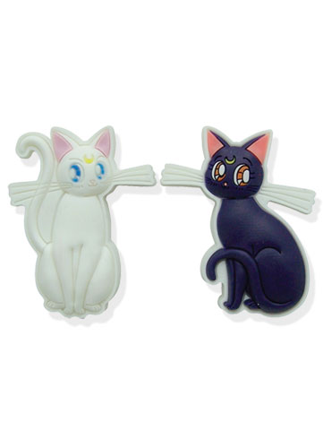 Sailormoon Luna & Artemis Pinset, an officially licensed product in our Sailor Moon Pins & Badges department.